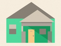 Habitat for Humanity House Icon
