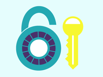 Combination Lock & Key