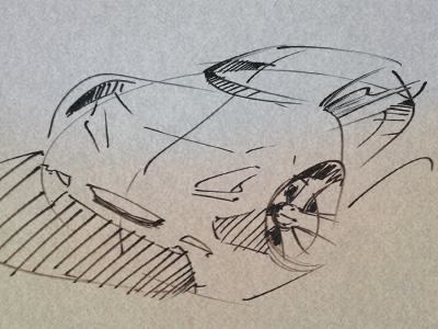 car sketch sketch