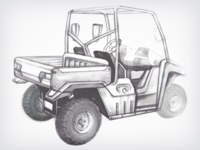 Utility Vehicle Sketch