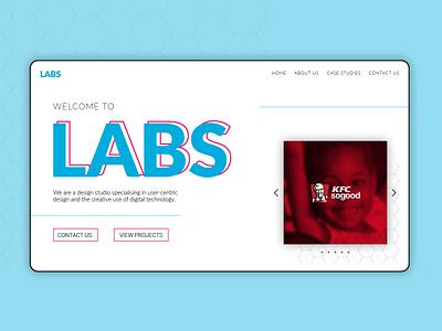 Labs Design Studio web branding website landingpage design ux ui