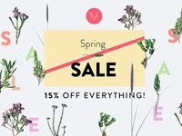 Titch Spring Sale Banner