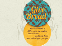 """Give Bread"" button"