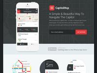 Capitol Hop Landing Page