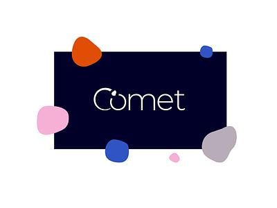 Daily Logo Challenge ~ Comet identity wordmark branding logo dailylogochallenge