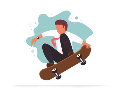 Skateboarding illustration skateboarding illustration