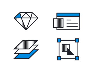 Icon Design - HYP's New Website team workprocess webdesign webdevelopment icondesign