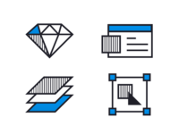 Icon Design - HYP's New Website