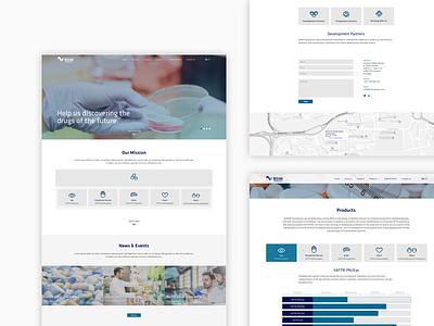BSIM - Web Design icondesign icon medicine health ui mockups webdesign