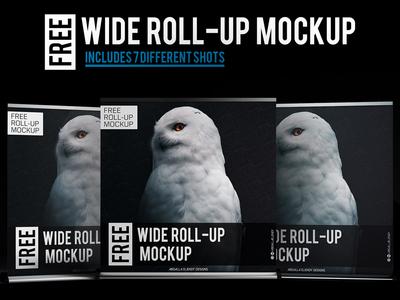 Wide Roll-up Mock ups