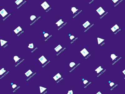 Fintech Bank app icon redesign