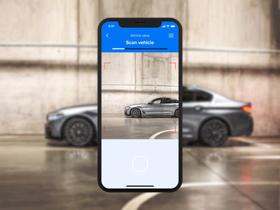 Car Recognition App (Concept) debutshot iphone x app animation app ux-ui scan interaction animation