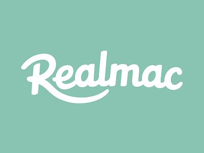 Realmac Logo (work in progress) logo type logotype typography hand drawn realmac