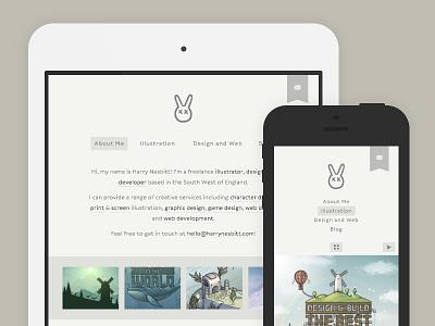 Website redesign website redesign html5 css3 svg responsive portfolio illustration