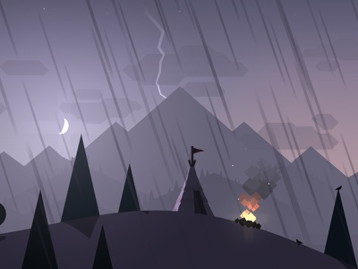 Alto Teaser Trailer! game trailer teaser ios development unity unity3d mountain fire lightning
