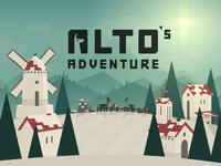Alto's Adventure - Title Scene