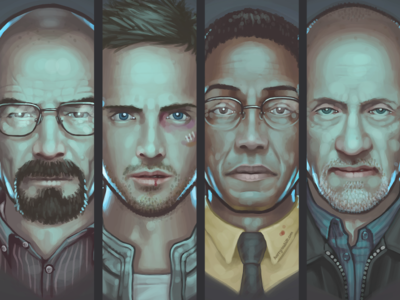 Breaking Bad Wallpaper breaking bad prints portraits paintings digital