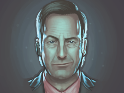 Saul Goodman fan art painting portrait bob odenkirk breaking bad saul goodman