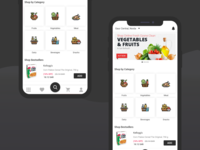 Grocery Home Screen
