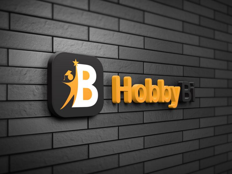 HobbyBi branding logo branding design newdesign new bi hobbybi hobby logo design logodesign logo design