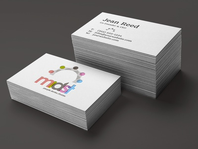 Business Card branding design logo