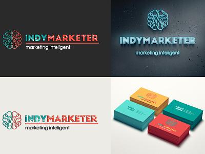 Logo for marketing business branding design logo