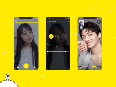 Instant video chat app