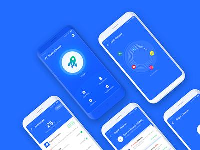 Super Cleaner security cleaner uidesign app