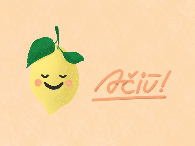 Lemon aciu smile lemon thanks