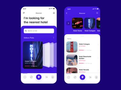 Hotel/travel App