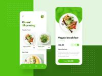 Food App / Main page