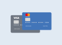 A quick credit card design