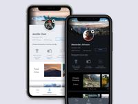 Daily UI 006 User Profile - Photographer Profile