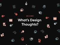 Design Thoughts Confetti Pattern