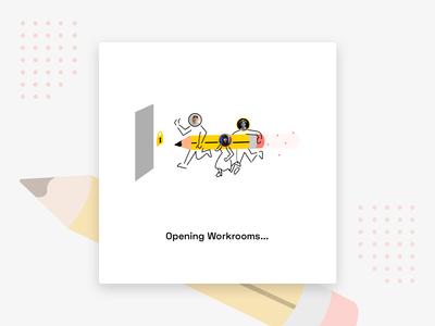 Daily UI 016 Pop-Up/Overlay - Productivity App Launch