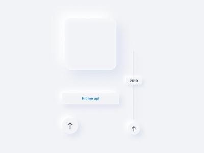 Soft UI Components (Testing) timeline button design button components component minimalistic minimalism minimalist soft icon vector minimal uxui ux ui design