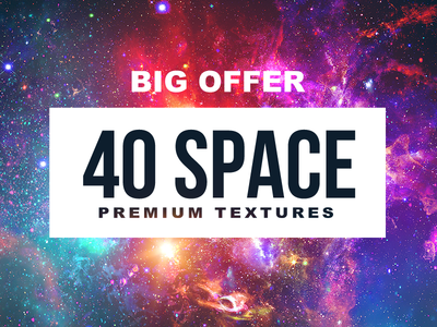 40 HD SPACE Textures
