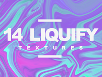 14 LIQUIFY Premium Textures