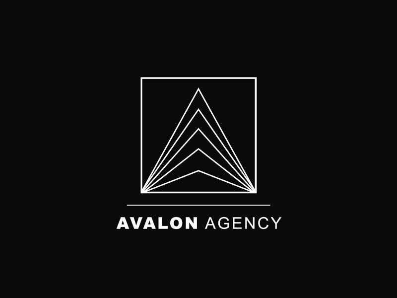 Avalon Agency Logo wg visualarts logos logo inspiration avalon mountain triangle pyramid modern white black investor branding vector lines minimal agency illustrator logo design logotype logo