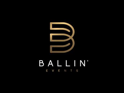 Logo design for BALLIN' Event