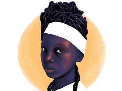 Negra pero no esclava slavery africa freedom proud dignity woman girl black