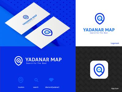Yadanar Map Logo