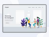Workplace For Designer