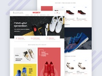 Nicerty Shoes Ecommerce