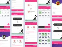 Bookmysports App UI