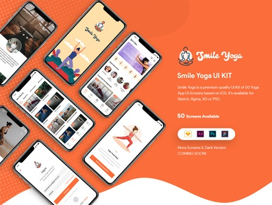 Smile Yoga UI Kit