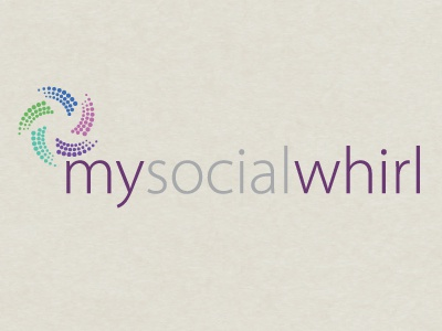 Mysocialwhirl.com Logo logo illustrator vector