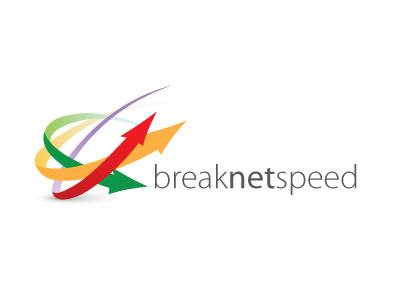Breaknetspeed Logo arrows traffic lights speed