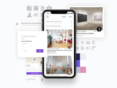 Case study hero mobile portfolio hero design mockup ui app