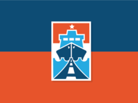 Road and Port Logo